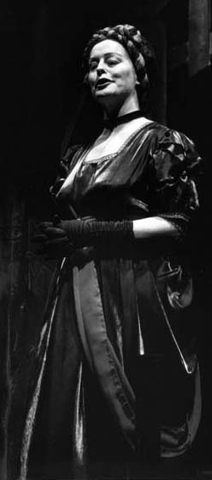 Linda as Satan in The Massacre of Tranent